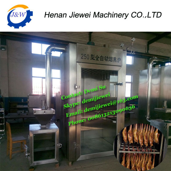 meat smoking chamber equipment/fish smoke chamber/smoking meat fish electric
