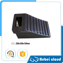 truck tire stopper /wheel chock stopper/wheel chock for car