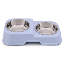 New Designed Sanitary Plastic Anti Spill Dog Bowl