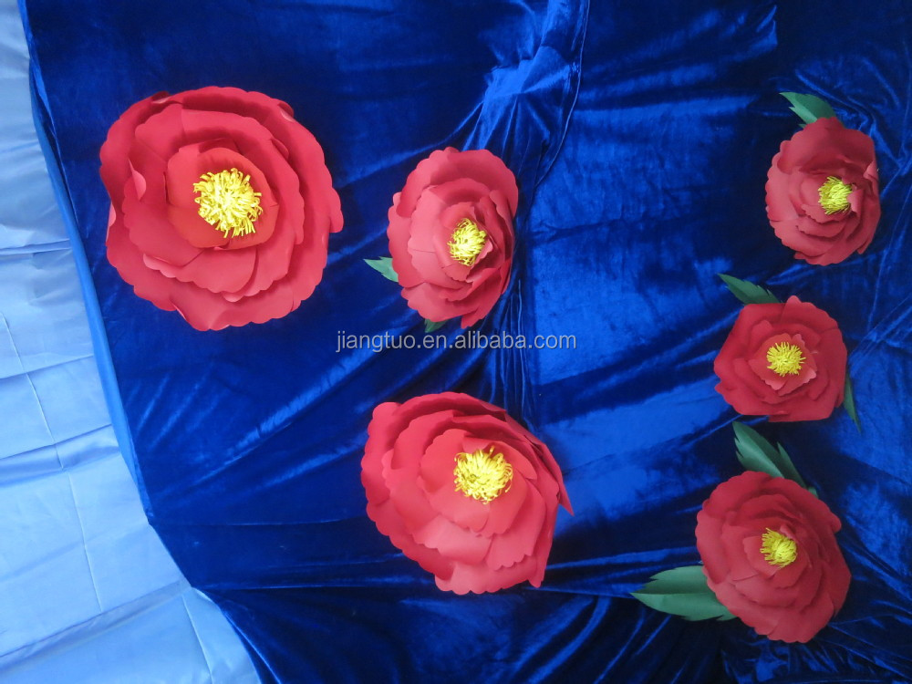 wholesale handmade Boutique Giant Paper Flowers