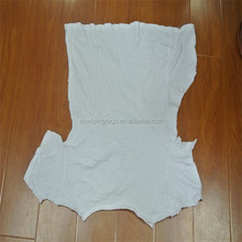 White recycled cotton fabric