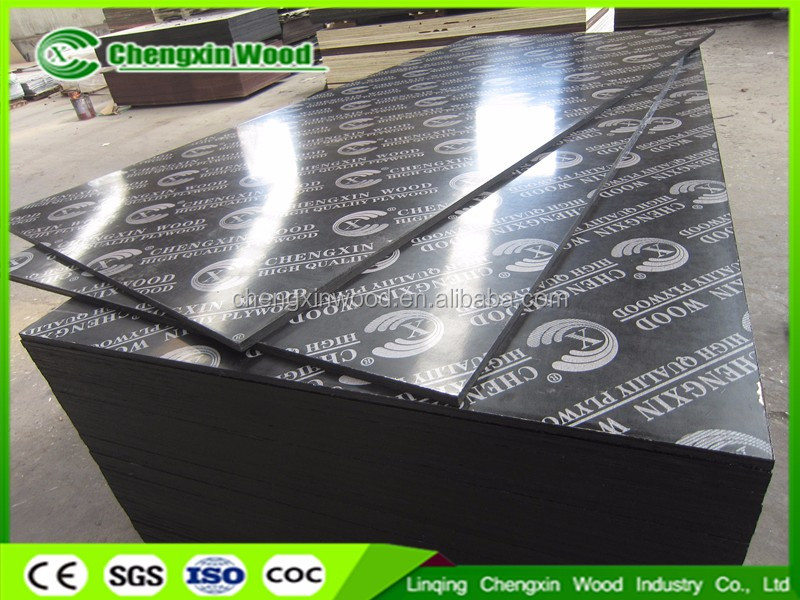 russian osb market 1220*2440mm furniture grade Chinese waterproof 12mm, 15mm,18mm,21mm (finland ) film faced plywood with logo