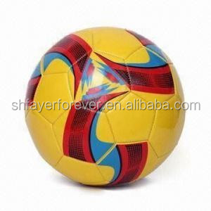 thermal printing football/soccer ball made of TPU//PVC/PU/neoprene