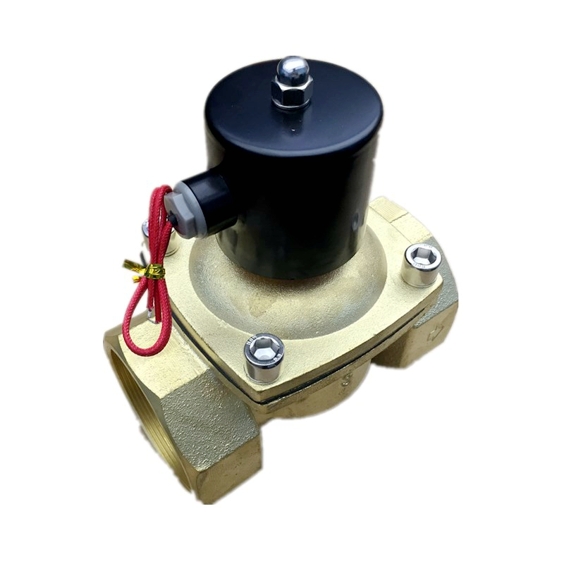 Large Diameter DN80 Water Flow Control Direct Acting 3 Inch Solenoid Valve