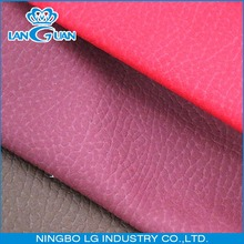 upholstery PU synthetic leather fabric for sofa
