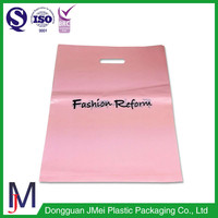 pink eco grocery bags printed carrier bags plastic shopping bags