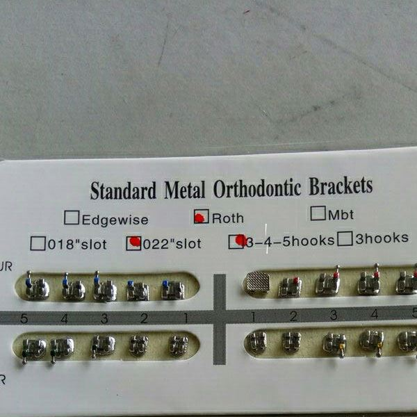 mim orthodontic bracket