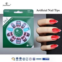 fengshangmei nail art eco-friendly acrylic nail tips pretty nail tip designs