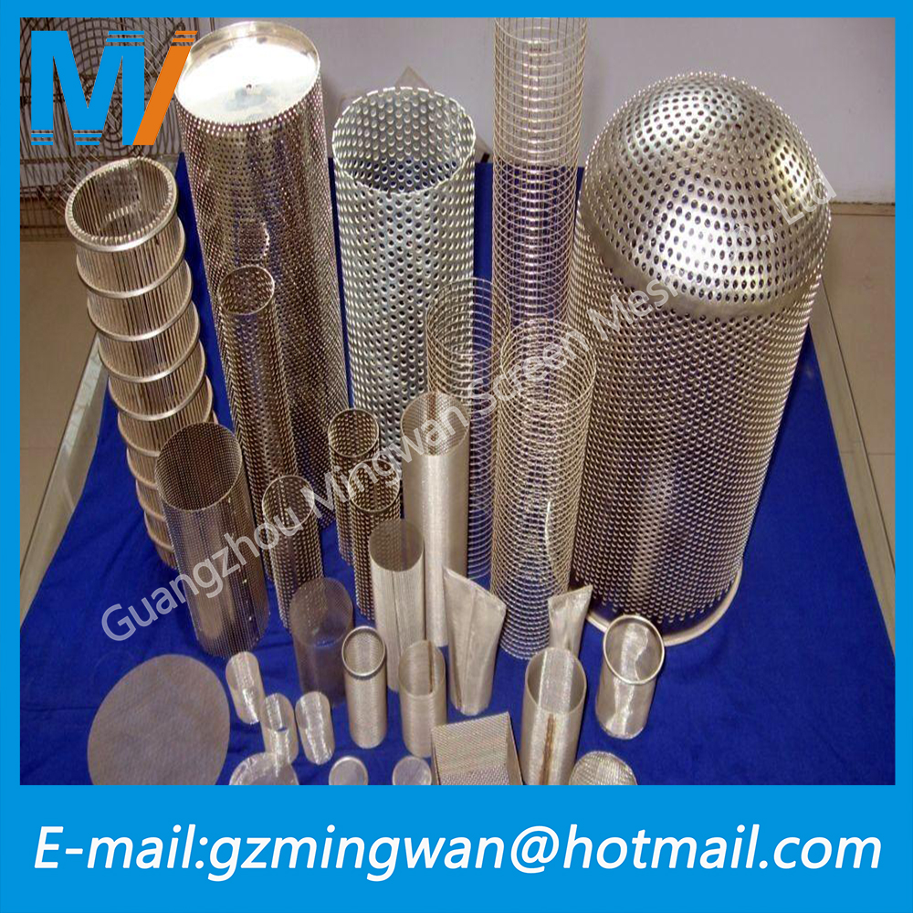 Stainless Steel Perforated sheet/net/plate/punched metal screen wire mesh