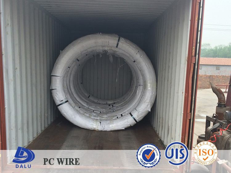 High Carbon steel binding wire/Steel Wire for Prestressing Concrete Reinforcement in coil (Spiral)