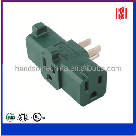 UL Listed Heavy Duty 3 side 3 outlet current tap
