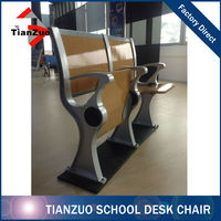 School Furniture University Desk Chair/Cartoon School Desk and Chair(WL013)