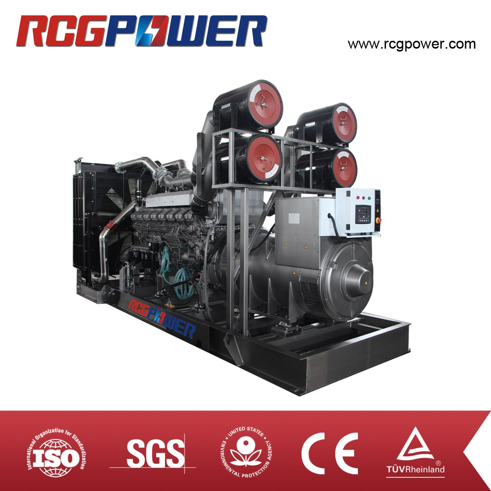 Various series models 2000KVA prime power MITSUBISHI open type diesel generator