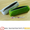 Promotional high quality felt pencil case with zipper