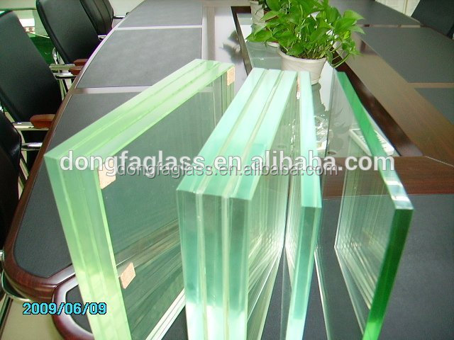 PVB/SGP laminated glass thickness with CE/ASNZS2208/SGCC certificated