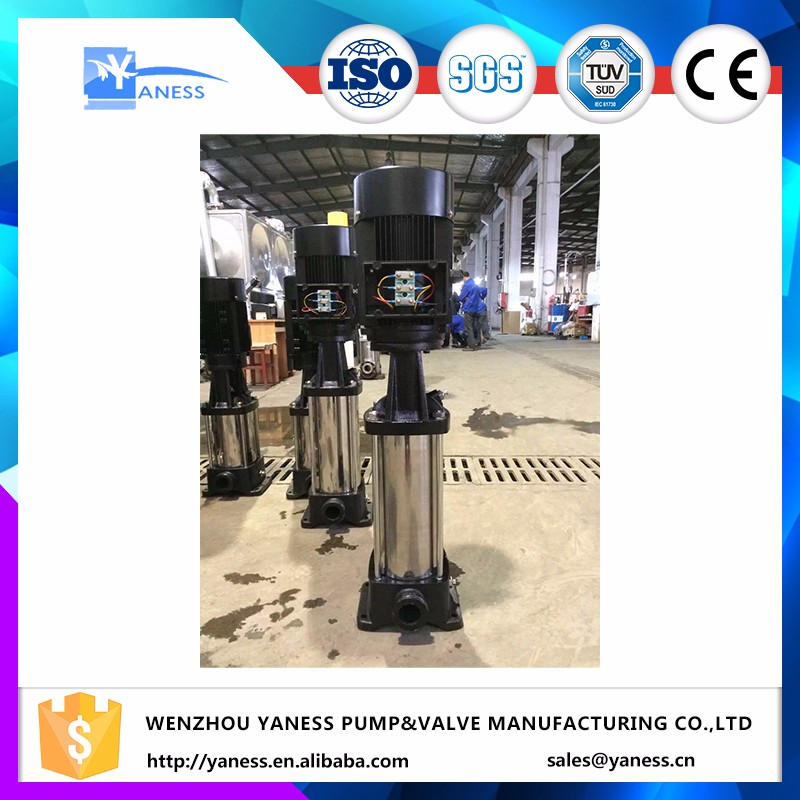 CDLF/CDL series vertical inline multistage centrifugal water pump