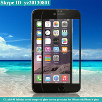 mobile phone accessory for iphone 6 cover tempered glass