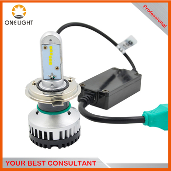 X3500 LED headlight H4 Hi/Lo beam replace orignal lighting car light accept mini order make own logo