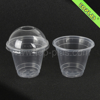 PP Plastic Cup With Lid Hot
