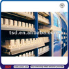 TSD-P010 supermarket shelf divider plastic product pusher/plastic bottle divider/cigarette pusher shelf