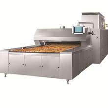 Commercial high efficiency steam cookie oven