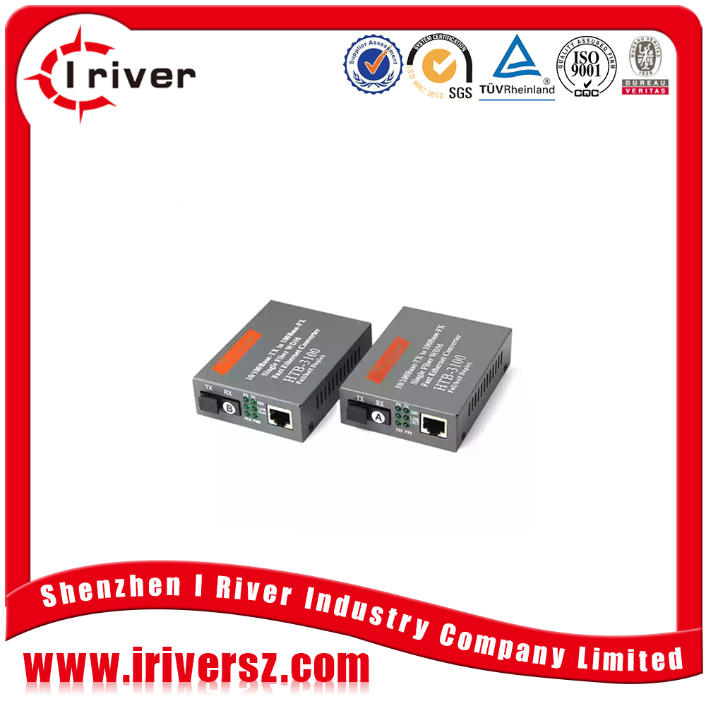 Stable quality Cheap price 10 100 1000 fiber media converter FTTH 2KM to 120KM optical ethernet converter
