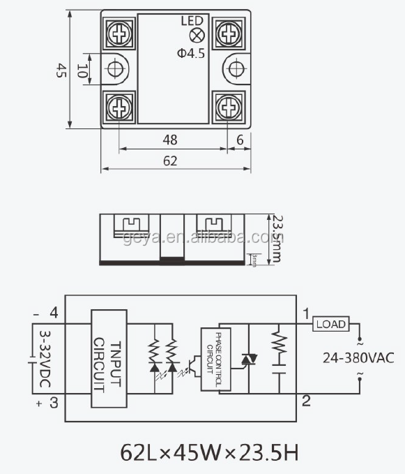 GEYA SSR-40VA 10A 25A 40A 50A 60A 80A 90A 100A Potentiometer to AC on solid state relay schematic, electrical relay diagram, selenium rectifier diagram, solid state relay operation, how does a relay work diagram, solid state relay 12v, latching relay diagram, solid state relay dimensions, solid state relay symbol, relay schematic diagram, solid state relay switch, solid state relay heater, solid state relay circuit, solid state voltage regulator, solid state relay tutorial, digital temperature controller circuit diagram, solid state relays ssr, solid state relay application, solid state relay failure, solid state relays how they work,