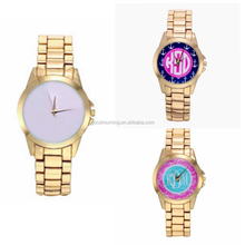Sublimation Personalized Monogrammed Watch