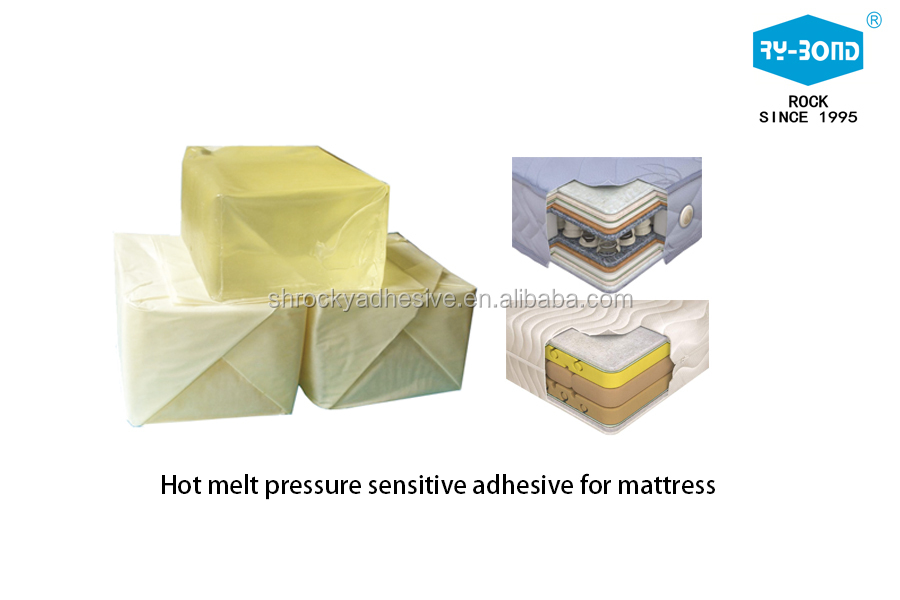 China Best Selling Spray Glue SBS Hot Melt Adhesive Block for Mattress