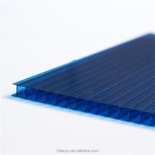 6mm 8mm twin-wall polycarbonate sheet for roofing