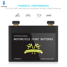 Motorcycle Start Battery Nano Phosphate Lithium Cell