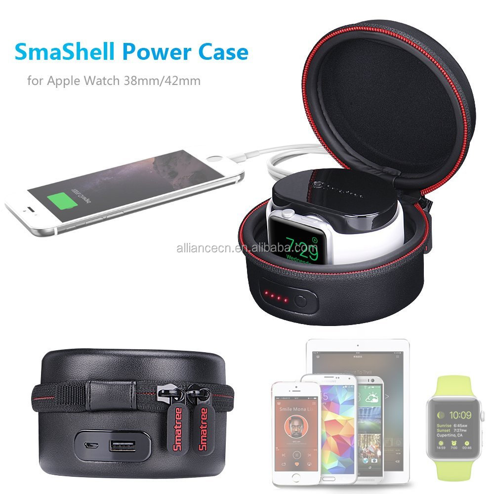 Smatree for apple watch Power Bank Charing case 3000mah