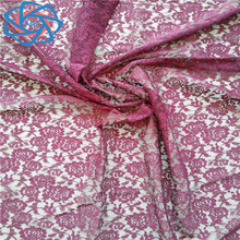 OEM accept Polyamide fabric lace cheap African lace fabric