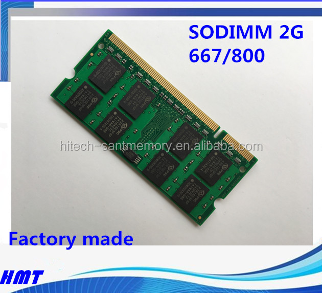 2GB PC2 5300 667MHZ DDR2 2RX8 SODIMM 200PIN LAPTOP/NOTEBOOK RAM