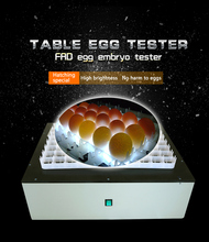 Table type egg tester/egg candler for sale