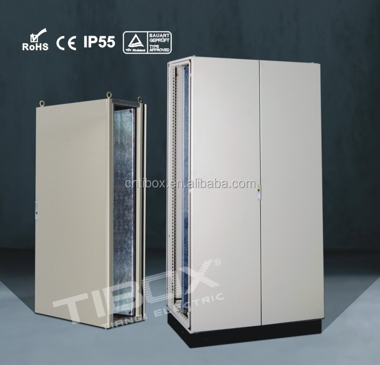TIBOX electric floor cabinet boxes/electrical switching control cabinet IP55 distribution board