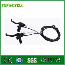 TOP High quality LED display brushless hub motor electric bike kit