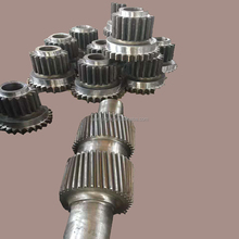 long stainless steel propeller transmission forging spline shaft