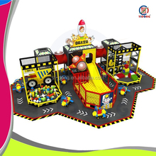 2015 driving area style design kids and baby indoor play park