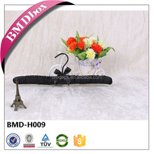 Black suit clothes hanger dress hanger