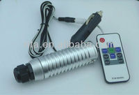 7W RGB LED fiber optic illuminator,with 10key RF remote controller;car used