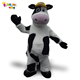 Enjoyment CE adults milk cow animal mascot costumes for sale