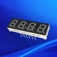 Ali0.28 inch 4 quad-digit ultra red led number display board