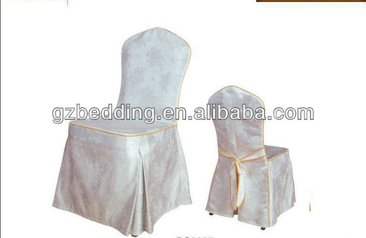 White Banquet Wedding Chair Cover