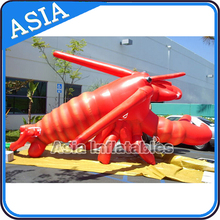 Giant Advertising Inflatable Shrimp Cartoon, Inflatable Lobster, Inflatable Crawfish