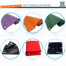 Heavy Duty 100% Waterproof UV Stabilised PVC Reinforced Tarpaulin 550gsm