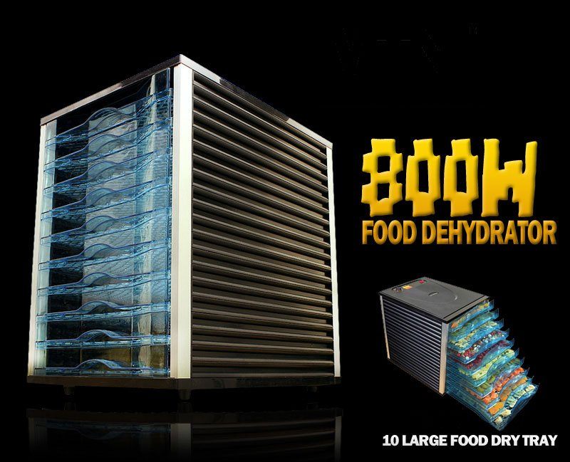 Hot selling Food Dehydrator With 10 Drying Trays