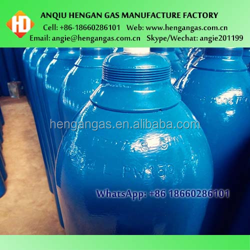Made In China High Pressure Gas Cylinder Hydrogen Gas Cylinder Hydrogen Gas Price