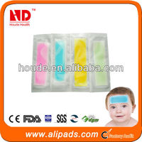 China wholesale health products herbal cooling patch 2014
