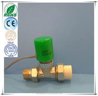 Smart controller manifold paraffin sensor electric actuator valve packed with PPR valve